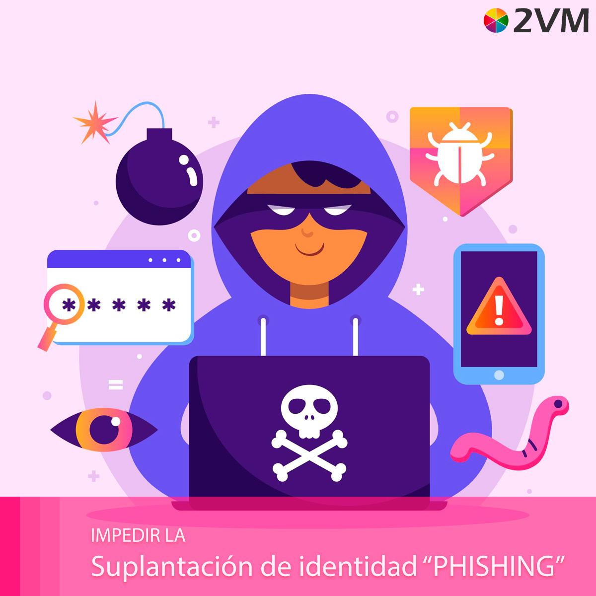 como evitar el intento de suplantacion phishing